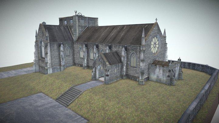 All Hallows Church 3D Model