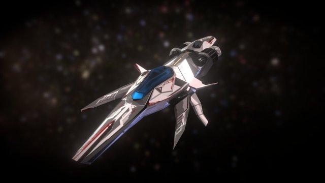 T Ship 3D Model
