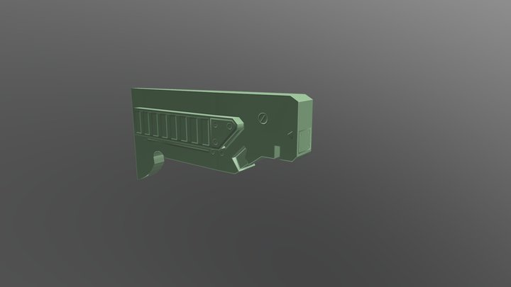 Normal map baking exercise 3D Model