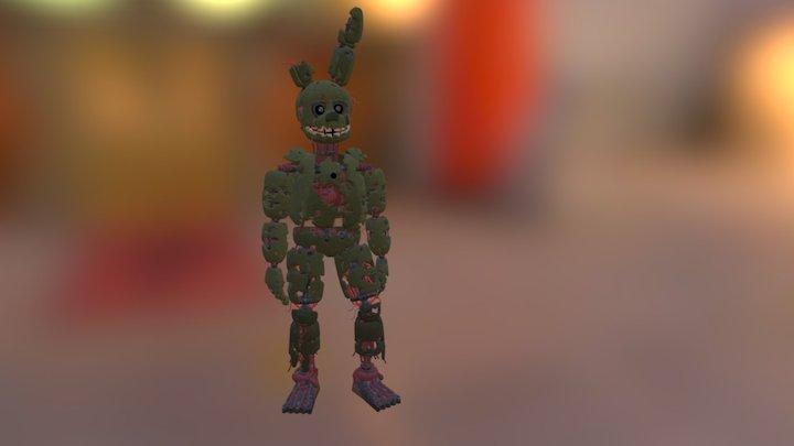 Springtrap v.4 (Gangnam Style) 3D Model