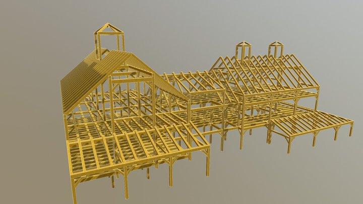 Littleton Barn 3D Model
