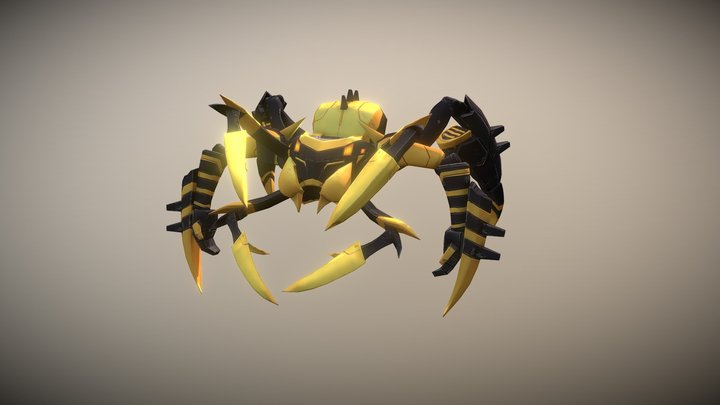 Blackarachnia 3D Model