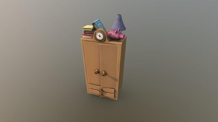 Dresser 3D Model