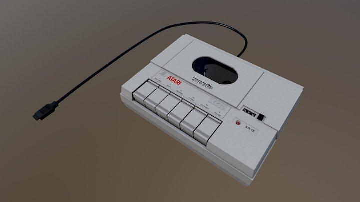 Cassette Recorder 3D Model