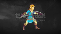 Link - Breath of the Wild - Animation 3D Model