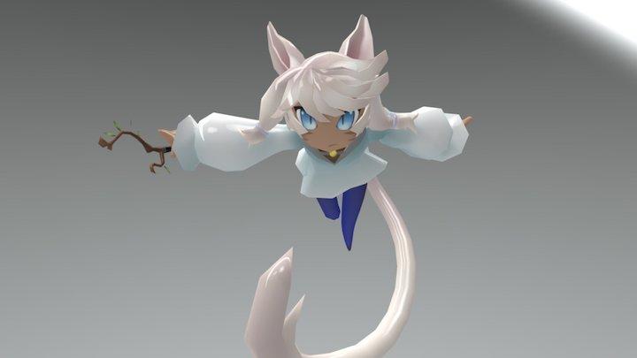 Y'shtola 3D Model