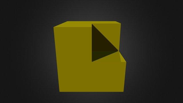 Yellow Piece New 3D Model