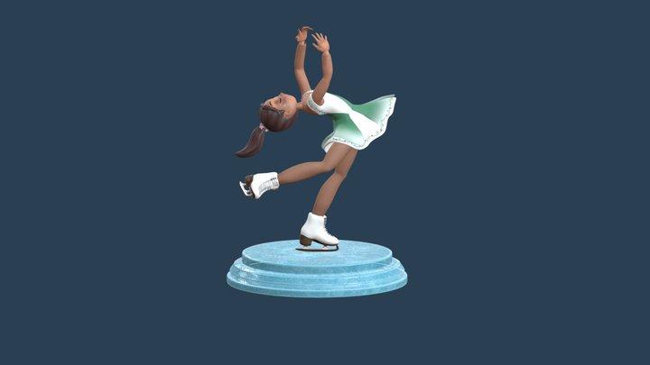 The Ice Princess 3D Model
