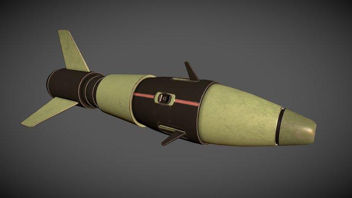 Rocket 1S 3D Model