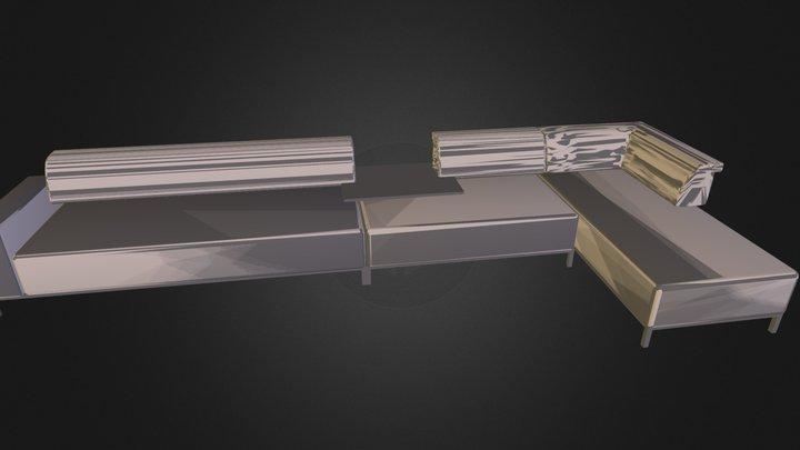 sofa test2 3D Model