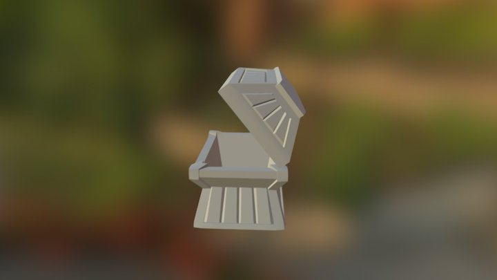 Teasurebox 3D Model
