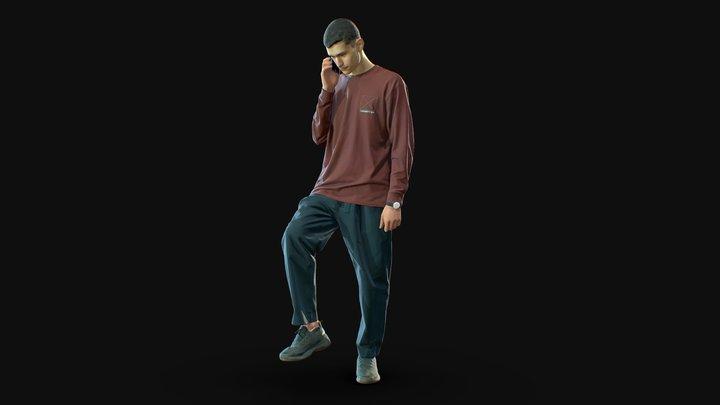 3d scan man 13 3D Model