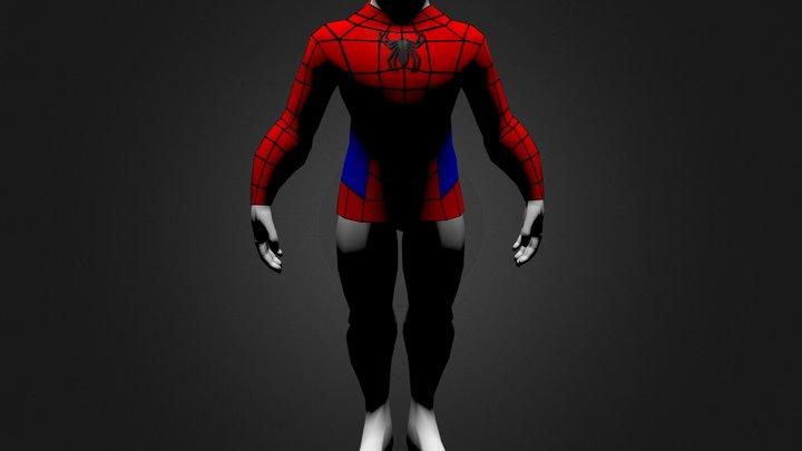 Spiderman Costume.zip 3D Model