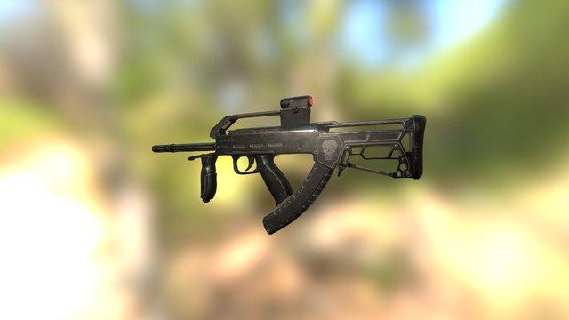 Gun_R1 3D Model