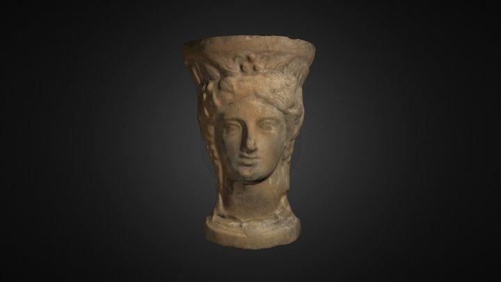 Pebetero de la necrópolis de l'Albufereta 3D Model