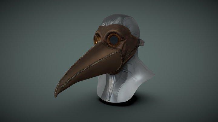 Post Apocalyptic Plague Mask 3D Model
