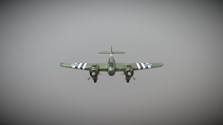 Bristol Beaufighter modified 3D Model