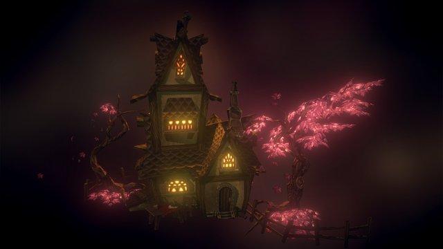 Spooky House [WIP] 3D Model