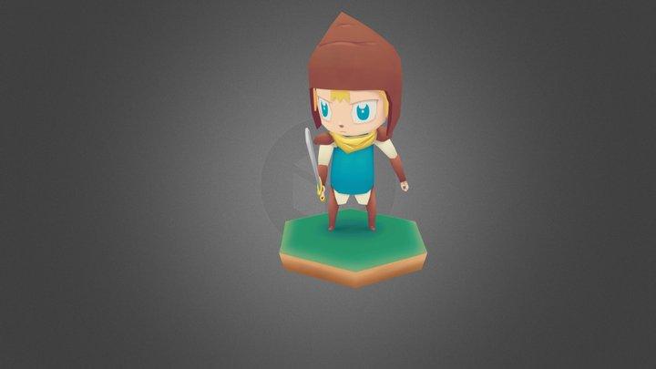 Little Hero - Idle 3D Model