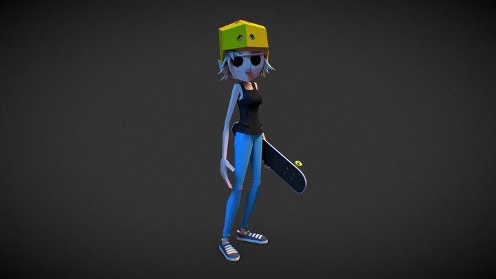 Flip - Pocket Skate 3D Model