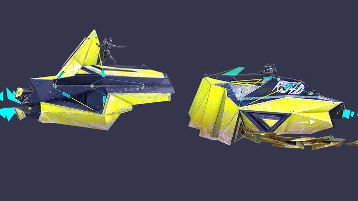 NXTLVL #RTJ4D 3D Model
