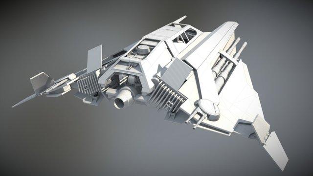 ILM ART DEPARTMENT CHALLENGE - THE RIDE 3D Model