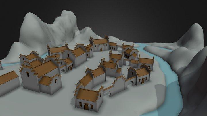 Blocking 3D Model
