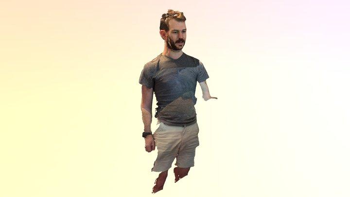 Cole unbounded full body selfie 3D Model