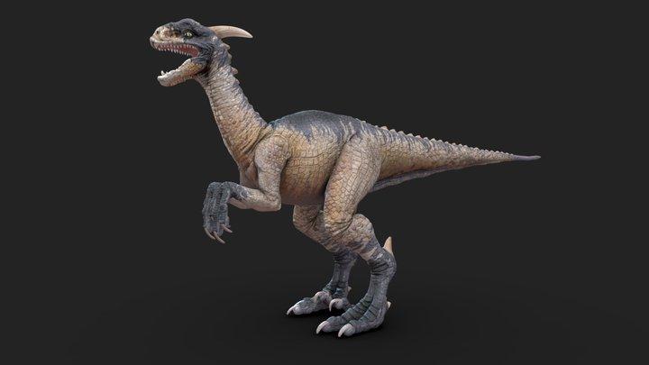 Dinosaur Tpose 3D Model