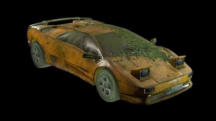 Lamborghini Diablo 1997 SV Free download 3D Model