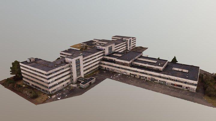 Abandoned Hospital 3D Scanned 3D Model