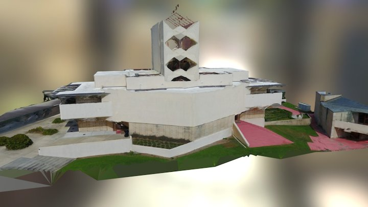 Annie Pfeiffer Chapel - Florida Southern College 3D Model