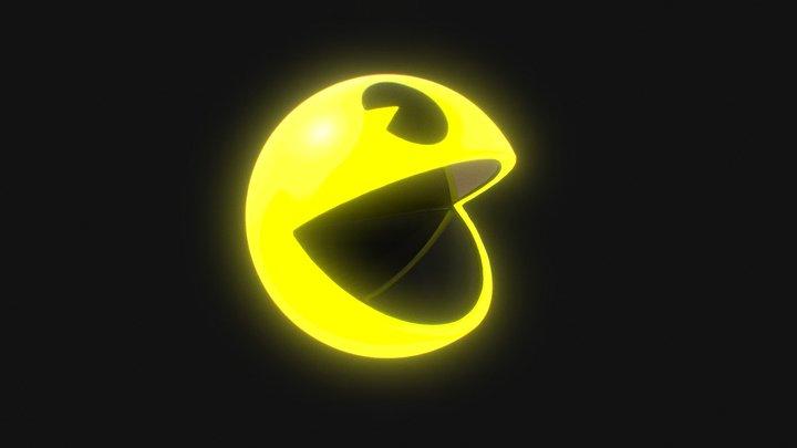 Pac Man High Quality Model 3D Model