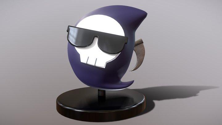 Mori Calliope's Mascot 3D Model