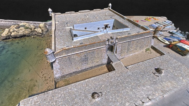Forte Lagos600K 3D Model