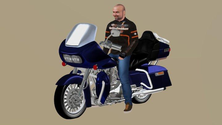 Harley SK 3D Model
