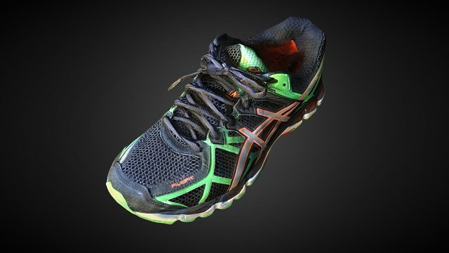 sports shoes-all-mask-MEDIUM-bump 3D Model