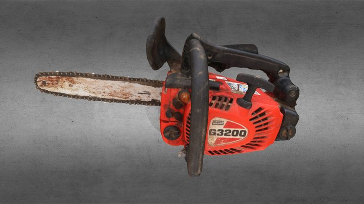 Chainsaw #3DST41 3D Model