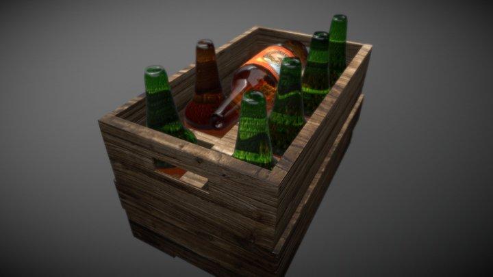 Beer box 3D Model