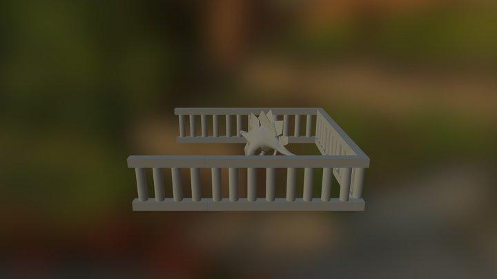 TC 247 Stegasaurus 3D Model