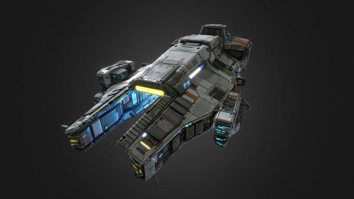 Taiidan Republic Carrier 3D Model