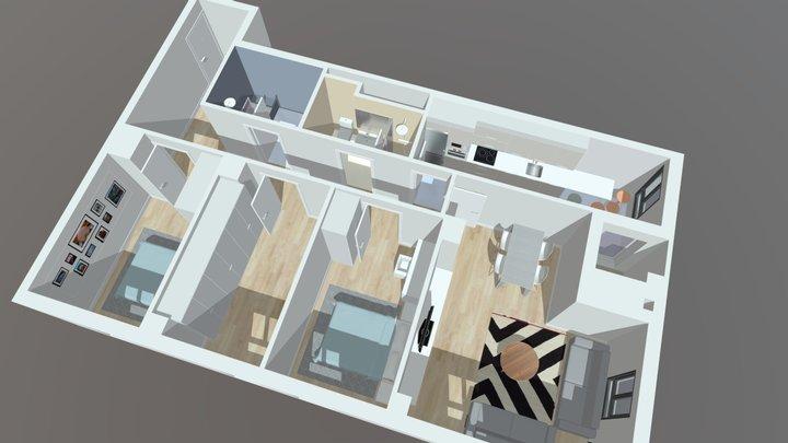 Piso en Bolueta 3D Model