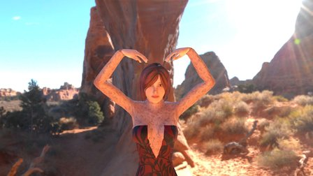 Crazy Woman! 3D Model
