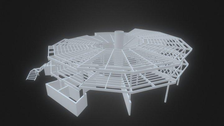 ESTRUTURA PC 3D Model