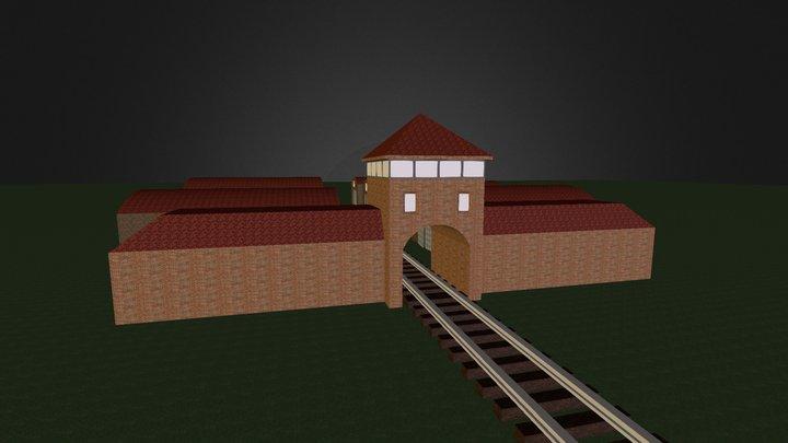 Auschwitz 3D Model