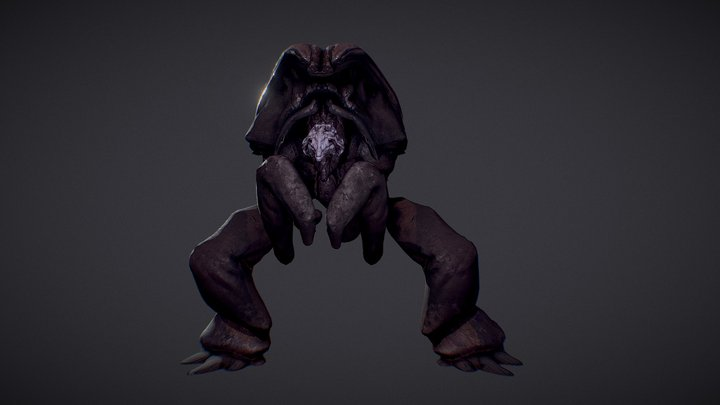 Rhak-hu - Ancient Creature from Gladiotron 3D Model