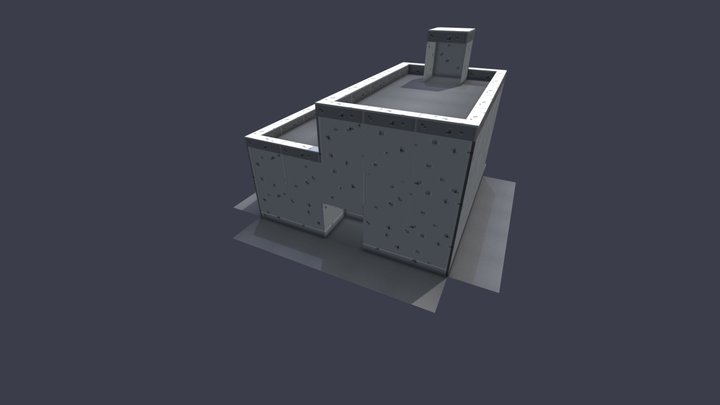 Sprytile Structure Ruins 3D Model