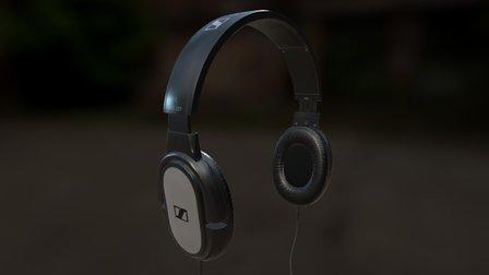 Sennheiser_Headphones 3D Model