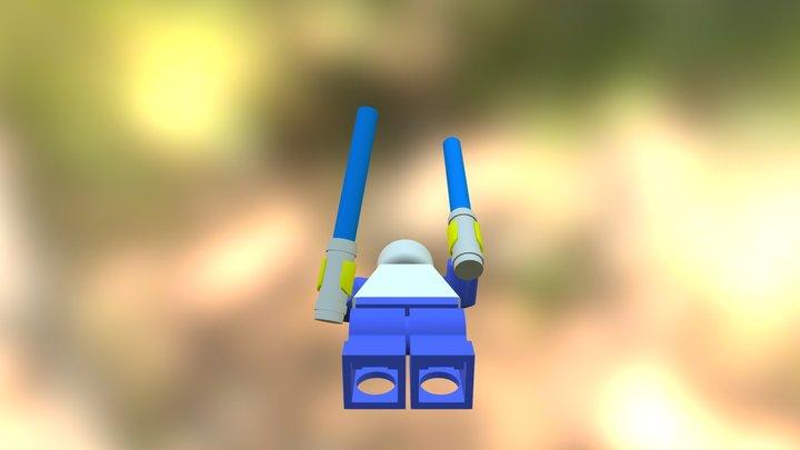 Lego Minifig 3D Model