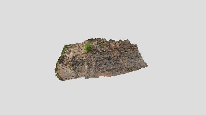 Currie Mountain Road Cut 3D Model